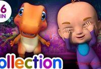 Peek a Boo Song amp Many More 3D Nursery Rhymes amp Songs for Kids Dinosaur Rhymes by ChuChu TV 200x137 - Peek a Boo Song & Many More 3D Nursery Rhymes & Songs for Kids - Dinosaur Rhymes by ChuChu TV