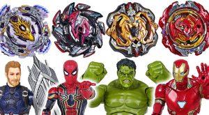 Beyblade super zetsu B 110 113 115 117 appeared Marvel Avengers Hulk vs Thanos DuDuPopTOY 300x165 - Beyblade super zetsu B-110, 113, 115, 117 appeared! Marvel Avengers Hulk vs Thanos - DuDuPopTOY