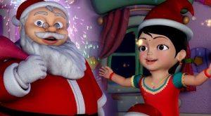Chinnu Christmas song Kannada Rhymes for Children Jingle bells Infobells 300x165 - Chinnu Christmas song | Kannada Rhymes for Children | Jingle bells | Infobells