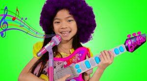 Emma Pretend Play as Musician w Barbie Guitar Toy for Kids Got Talent Show 300x165 - Emma Pretend Play as Musician w/ Barbie Guitar Toy for Kids Got Talent Show