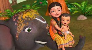 Enugamma Enugu Telugu Rhymes for Children Infobells 300x165 - Enugamma Enugu   Telugu Rhymes for Children   Infobells