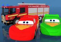 Fire Truck Inside Lego Garage Making Lightning Mcqueen Colorful with Magic Liquid Bonny Kids 200x137 - Fire Truck Inside Lego Garage Making Lightning Mcqueen Colorful with Magic Liquid Bonny Kids