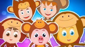 Five Little Monkeys Schoolies Video For Children 300x165 - Five Little Monkeys   Schoolies Video For Children