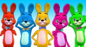 Funny Bunny Plays PeekABoo Finger Family Songs Nursery Rhymes Learn Wild Animals Name amp Sounds 300x165 - Funny Bunny Plays PeekABoo Finger Family Songs Nursery Rhymes | Learn Wild Animals Name & Sounds