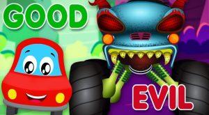 Good Vs Evil Little Red Car Cartoons For Babies 300x165 - Good Vs Evil | Little Red Car | Cartoons For Babies