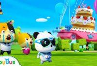 Help Baby Kitten39s Birthday Cake is Flying Away Super Panda Rescue Team BabyBus Cartoon 200x137 - Help! Baby Kitten's Birthday Cake is Flying Away   Super Panda Rescue Team   BabyBus Cartoon