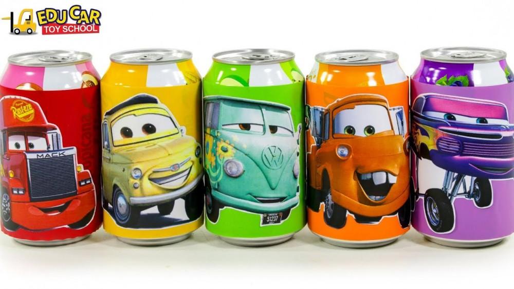 Learning Color Disney Pixar Cars Lightning McQueen Mack Truck magic juice Play for kids car toys - Learning Color Disney Pixar Cars Lightning McQueen Mack Truck magic juice Play for kids car toys