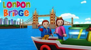 London Bridge is Falling Down Nursery Rhymes 300x165 - London Bridge is Falling Down - Nursery Rhymes