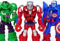 Marvel Ant Man Mech Armor suit Crush Thanos dinosaurs and help Hulk Spider Man DuDuPopTOY 200x137 - Marvel Ant-Man Mech Armor suit! Crush Thanos, dinosaurs and help Hulk, Spider Man! - DuDuPopTOY