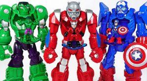 Marvel Ant Man Mech Armor suit Crush Thanos dinosaurs and help Hulk Spider Man DuDuPopTOY 300x165 - Marvel Ant-Man Mech Armor suit! Crush Thanos, dinosaurs and help Hulk, Spider Man! - DuDuPopTOY