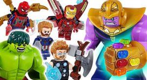 Marvel Lego Infinity War Avengers Hulk Iron Man Spider Man Go Defeat the Thanos DuDuPopTOY 300x165 - Marvel Lego Infinity War Avengers Hulk, Iron Man, Spider Man! Go! Defeat the Thanos! - DuDuPopTOY