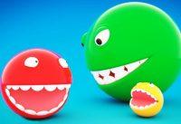 Pacman vs Pacman Funny Pacman Cartoons for Children 200x137 - Pacman vs Pacman | Funny Pacman Cartoons for Children