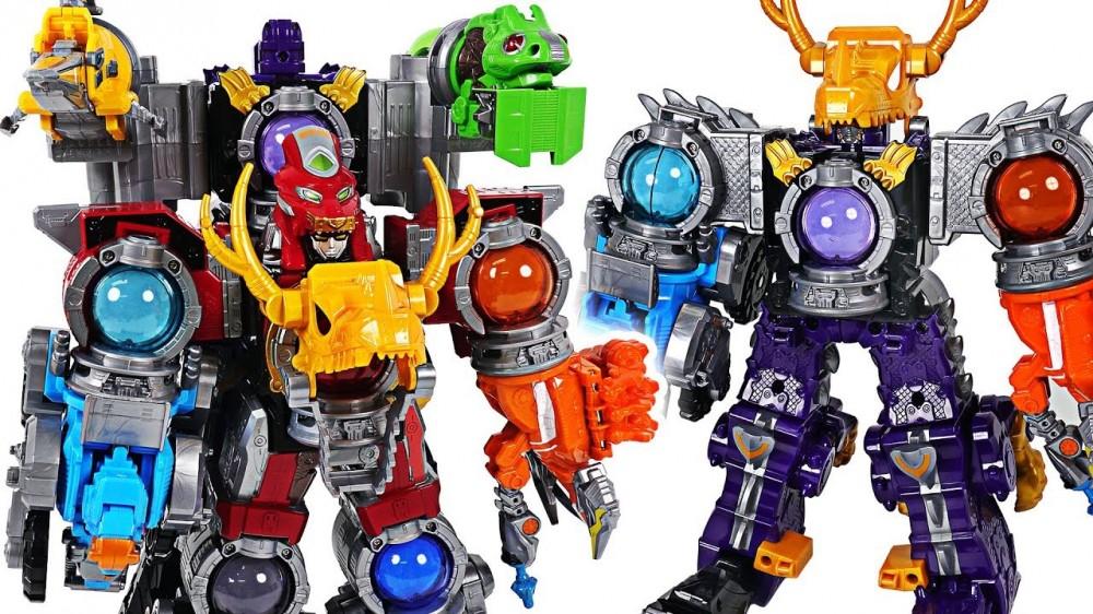 Power Rangers Uchuu Sentai Kyuranger Kyurenoh Ryuteioh combine Ryuteikyurenoh DuDuPopTOY - Power Rangers Uchuu Sentai Kyuranger Kyurenoh, Ryuteioh combine! Ryuteikyurenoh! - DuDuPopTOY