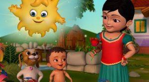 hqdefault 22 300x165 - பூக்களிலும் புல்லின் மீதும் | Tamil Rhymes for Children | Infobells