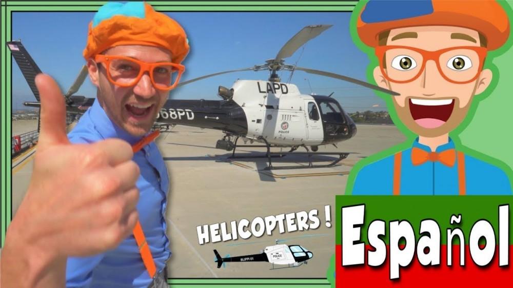 maxresdefault 195 - Blippi Español y el Helicóptero de la Policía de Los Ángeles | Videos Educacionales para Niños
