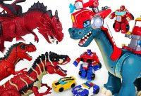 Dragon sets fire Transformers Rescue Bots Chomp Squad fire fighting dinosaur Go DuDuPopTOY 200x137 - Dragon sets fire! Transformers Rescue Bots, Chomp Squad fire fighting dinosaur! Go! - DuDuPopTOY