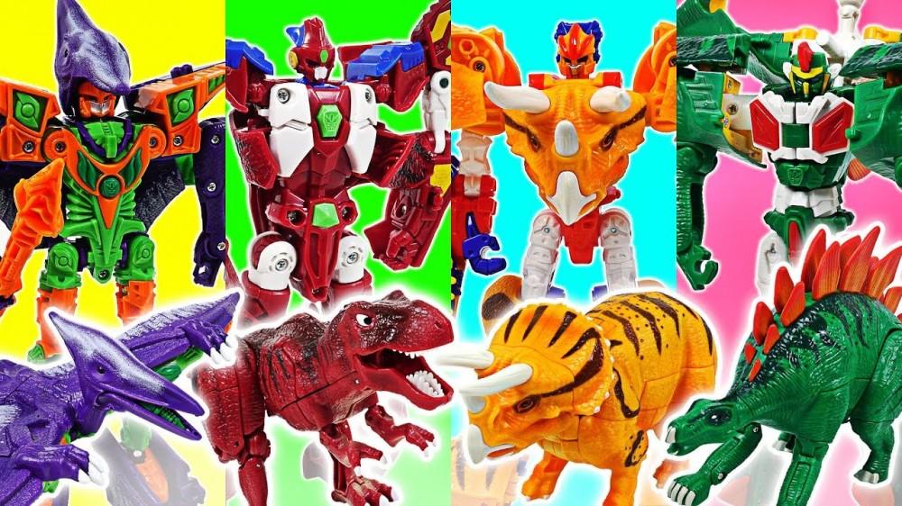 Hello Carbot Cretaceous period dinosaur transform robot Tyracles Terajet Tego Go DuDuPopTOY - Hello Carbot Cretaceous period dinosaur transform robot Tyracles, Terajet, Tego! Go! - DuDuPopTOY