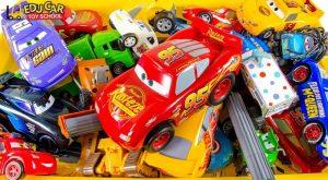 Learning Color Disney Cars Lightning McQueen Mack Truck box full of car toys Play for kids 300x165 - Learning Color Disney Cars Lightning McQueen Mack Truck box full of car toys Play for kids