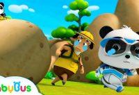 Run Super Panda A Big Stone Super Panda Rescue Team Super TrainMonster Car BabyBus Cartoon 200x137 - Run! Super Panda! A Big Stone | Super Panda Rescue Team | Super Train,Monster Car | BabyBus Cartoon
