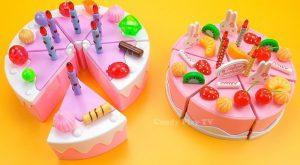 Toy cutting velcro cakes strawberry custard fruit cake sponge cake Make Toy Birthday Cake 300x165 - Toy cutting velcro cakes strawberry custard fruit cake sponge cake | Make Toy Birthday Cake