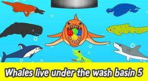 maxresdefault 36 300x165 - [EN] Whales live under the wash basin 5, kids animals animation, whales adventureㅣCoCosToy